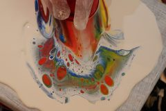 Workshop acrylic pouring 10 augustus