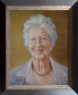 90 jarige dame - jokezwaan.nl