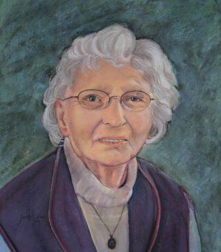 Portret in opdracht moeder