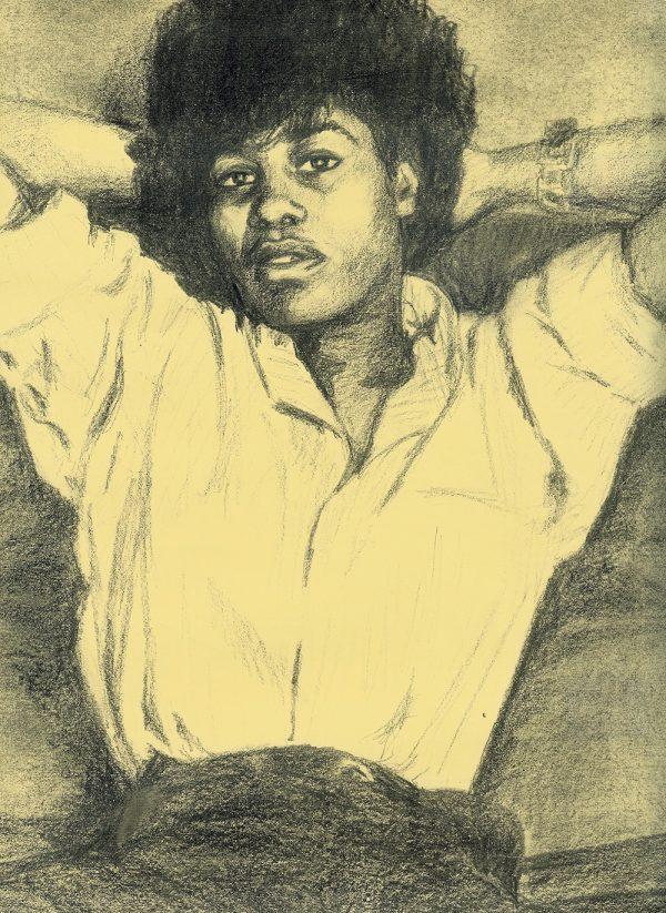 Portret van Joan Armatrading